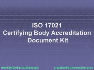 Presentation on ISO 17021:2015 Document Kit