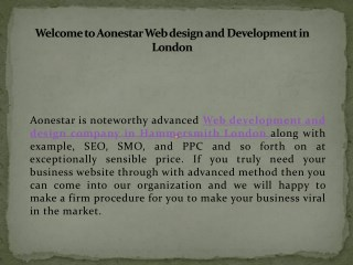 Best Web Design and Development Company in Hammersmith, London