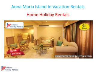Anna Maria Island In Vacation Rentals