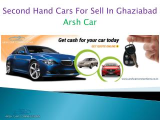Second Hand Cars For Sell In Ghaziabad