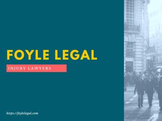 Foyle legal injury lawyers introduction