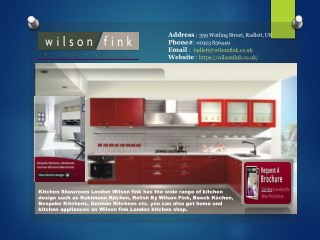 Best Kitchen Suppliers in Hertfordshire  Wilson Fink