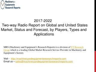 2017-2022 Two-way Radio Report