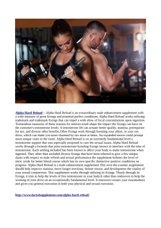 http://www.facts4supplement.com/alpha-hard-reload/