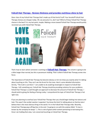 http://chicagocosmeticderm.com/folicell-hair-therapy/