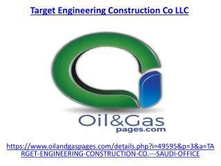 The best target engineering construction co llc in UAE