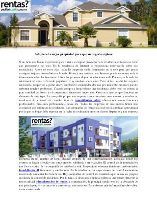 inmobiliarias df