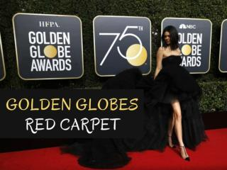 Golden Globes 2018 Red Carpet Dresses