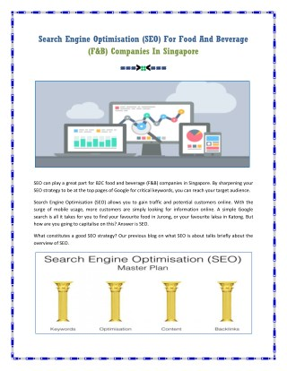 Search Engine Optimisation Companies In Singapore