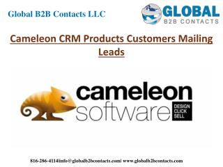 Cameleon CRM Product Customers Mailing Leads