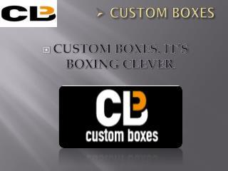 Custom Boxes | Custom Packaging Boxes