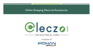 Electrical accessories online India