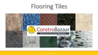 Flooring Tiles | ConstroBazaar