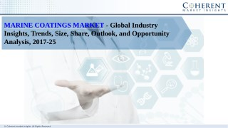 Marine Coatings Market report categorizes global market by product type, and application - Global Industry Insights, Tre