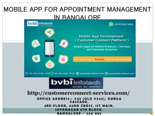 Mobile App for Appointment Management, Mobile Wallet App