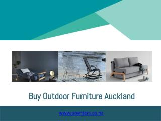 buy outdoor furniture auckland