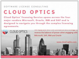 Microsoft Licensing Support - Cloud Optics