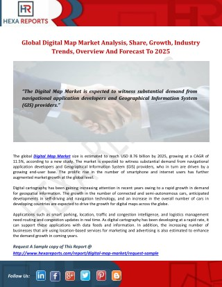 Digital Map Market Share | Global Industry Research Report, 2025