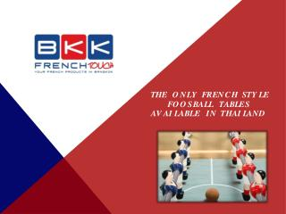 Thailand Foosball Table