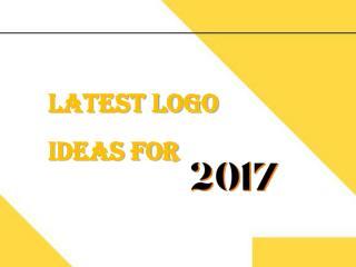 Latest Logo Ideas For 2017