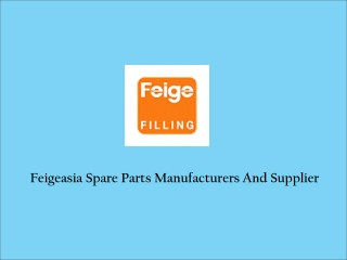 Feigeasia Spare Parts Supplier