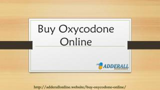 Where to buy oxycodone online