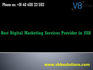 Best Digital Marketing Services Provider in USA