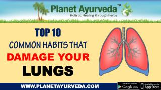 These Common Habits Can Be Harmful for Your Lungs