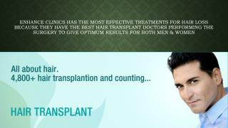 Best Clinic for hair transplant