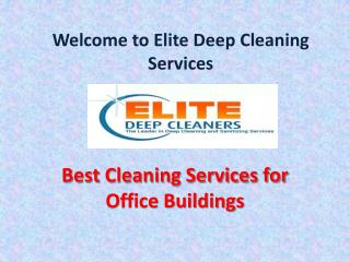Emergency Cleaning, Restoration Services, Cleaning Services for Business, Homes - EliteDeepCleaningServices.com