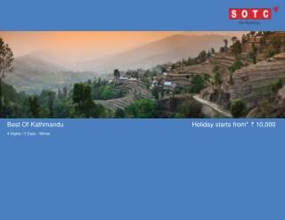 Best Of Kathmandu with SOTC Holidays