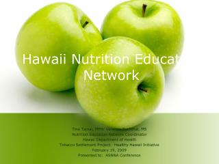 Hawaii Nutrition Education Network