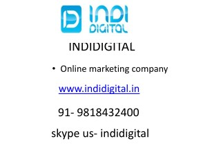 Find the digital marketing companies in delhi