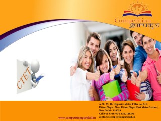 Best Ctet Coaching Institute In Uttam Nagar Delhi NCR