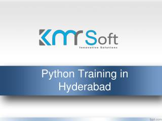Python training in hyderabad, Python training institutes hyderabad, Python Online Training In Hyderabad – KMRsoft