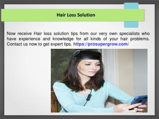 Hair Loss Solution TX
