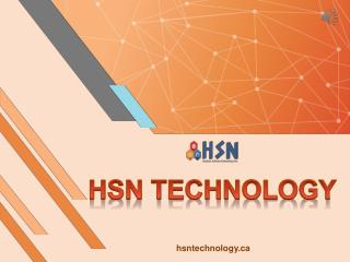 Website Design Services in Calgary - HSN Technology