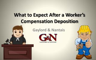 What to expect after a worker's compensation deposition