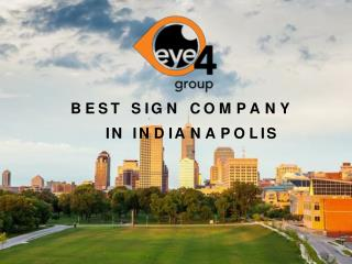 Best Sign Company In Indianapolis