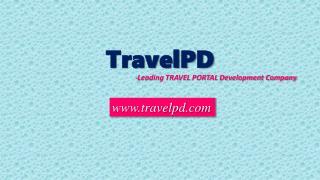 Travel Portal Development Company - TravelPD