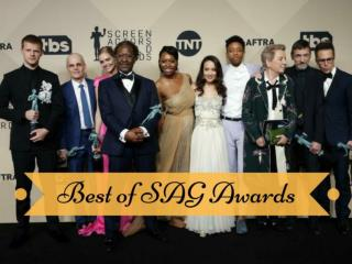 Best of SAG Awards 2018