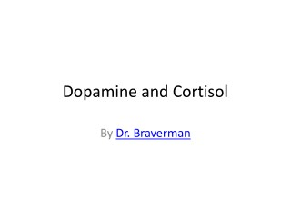 Dopamine And Cortisol