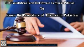 Best Divorce Lawyer in Lahore Pakistan