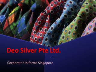 Get the best Corporate Uniforms at an affordable rates at Deo Silver