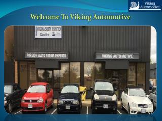 Contact Viking Automotive For Auto Repair Chantilly VA