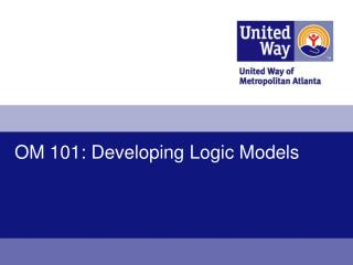OM 101: Developing Logic Models