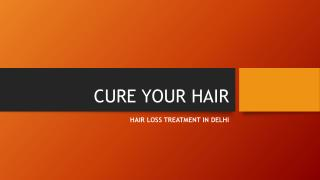 Hair Loss Treatment In Delhi