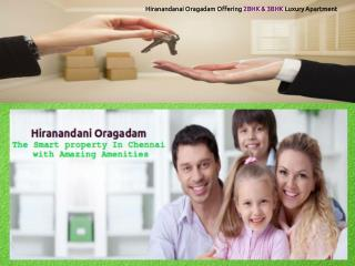Hiranandani orgadam 2bhk & 3bhk Luxury Apartment
