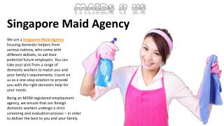 Transfer Maid Singapore