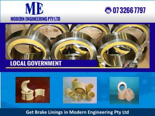 Get Brake Linings in Modern Engineering Pty Ltd